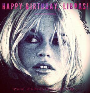 Libra Equinox Brigitte Bardot