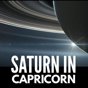 SparkAstrology.com Saturn in Capricorn