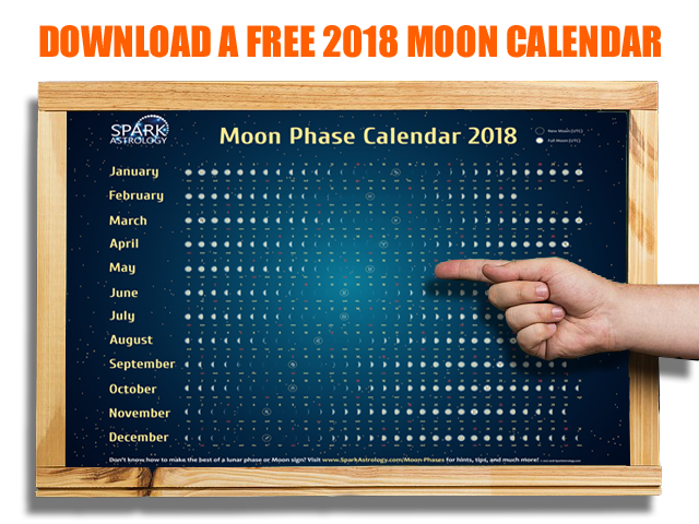 SparkAstrology Moon Calendar gift for subscribers