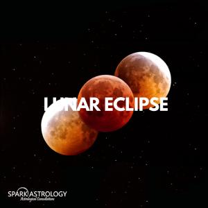 Leo Lunar Eclipse SparkAstrology