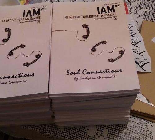 IAM magazine first printed issue